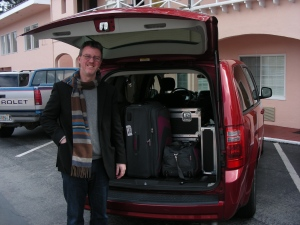 Richard with the Dodge Grand Caravan